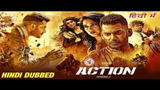 Action Hindi Dubbed Full Movie | Vishal, Tamannaah Bhatia - Hindi Dubbed Free